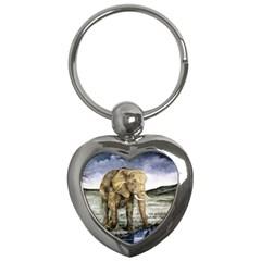 Elephant Key Chains (heart)