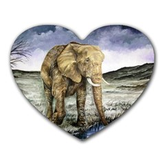 Elephant Heart Mousepads