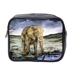 Elephant Mini Toiletries Bag 2 Side