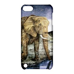 Elephant Apple Ipod Touch 5 Hardshell Case With Stand