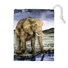 Elephant Drawstring Pouches (extra Large)