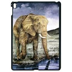 Elephant Apple Ipad Pro 9 7   Black Seamless Case