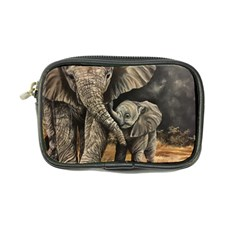Elephant Mother And Baby Coin Purse