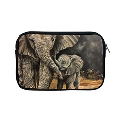 Elephant Mother And Baby Apple Macbook Pro 13  Zipper Case