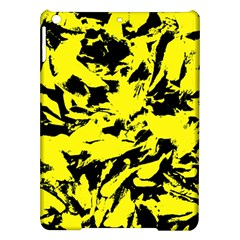 Yellow Black Abstract Military Camouflage Ipad Air Hardshell Cases