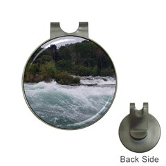 Sightseeing At Niagara Falls Hat Clips With Golf Markers