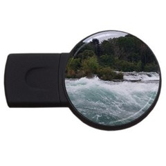 Sightseeing At Niagara Falls Usb Flash Drive Round (4 Gb)