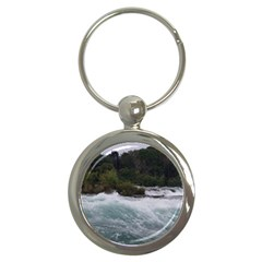 Sightseeing At Niagara Falls Key Chains (round)