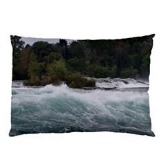 Sightseeing At Niagara Falls Pillow Case