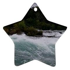 Sightseeing At Niagara Falls Star Ornament (two Sides)