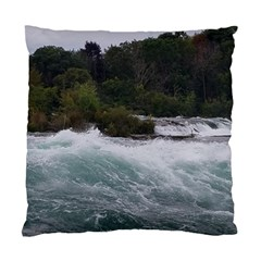 Sightseeing At Niagara Falls Standard Cushion Case (one Side)