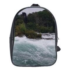 Sightseeing At Niagara Falls School Bag (large)