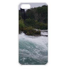 Sightseeing At Niagara Falls Apple Iphone 5 Seamless Case (white)