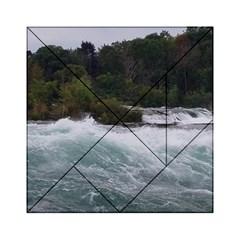 Sightseeing At Niagara Falls Acrylic Tangram Puzzle (6  X 6 )