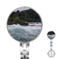Sightseeing At Niagara Falls Stainless Steel Nurses Watch