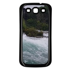Sightseeing At Niagara Falls Samsung Galaxy S3 Back Case (black)