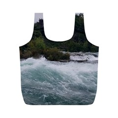 Sightseeing At Niagara Falls Full Print Recycle Bags (m)
