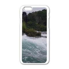 Sightseeing At Niagara Falls Apple Iphone 6/6s White Enamel Case