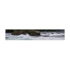 Sightseeing At Niagara Falls Flano Scarf (mini)