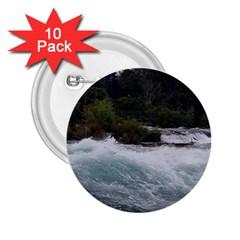 Sightseeing At Niagara Falls 2 25  Buttons (10 Pack)