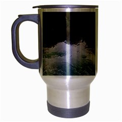 Sightseeing At Niagara Falls Travel Mug (silver Gray)