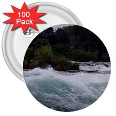 Sightseeing At Niagara Falls 3  Buttons (100 Pack)