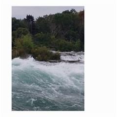 Sightseeing At Niagara Falls Small Garden Flag (two Sides)