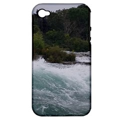 Sightseeing At Niagara Falls Apple Iphone 4/4s Hardshell Case (pc+silicone)