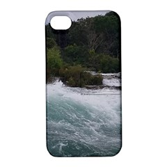 Sightseeing At Niagara Falls Apple Iphone 4/4s Hardshell Case With Stand
