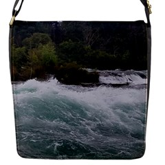 Sightseeing At Niagara Falls Flap Messenger Bag (s)