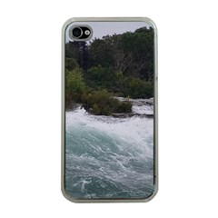 Sightseeing At Niagara Falls Apple Iphone 4 Case (clear)