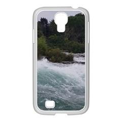 Sightseeing At Niagara Falls Samsung Galaxy S4 I9500/ I9505 Case (white)