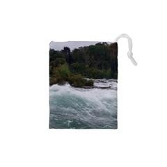 Sightseeing At Niagara Falls Drawstring Pouches (xs)
