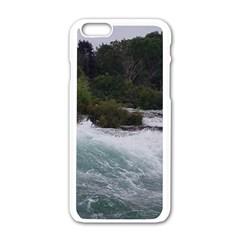 Sightseeing At Niagara Falls Apple Iphone 6/6s White Enamel Case