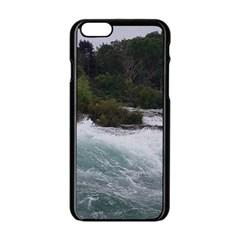 Sightseeing At Niagara Falls Apple Iphone 6/6s Black Enamel Case