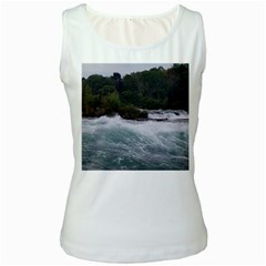Sightseeing At Niagara Falls Women s White Tank Top