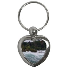 Sightseeing At Niagara Falls Key Chains (heart)