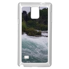 Sightseeing At Niagara Falls Samsung Galaxy Note 4 Case (white)