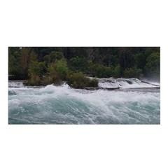 Sightseeing At Niagara Falls Satin Shawl