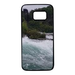 Sightseeing At Niagara Falls Samsung Galaxy S7 Black Seamless Case