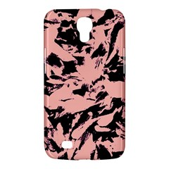 Old Rose Black Abstract Military Camouflage Samsung Galaxy Mega 6 3  I9200 Hardshell Case