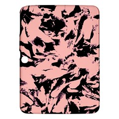 Old Rose Black Abstract Military Camouflage Samsung Galaxy Tab 3 (10 1 ) P5200 Hardshell Case