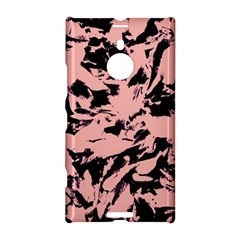 Old Rose Black Abstract Military Camouflage Nokia Lumia 1520