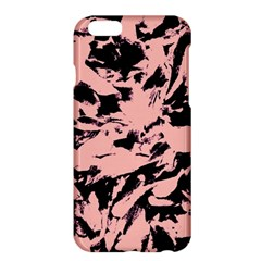 Old Rose Black Abstract Military Camouflage Apple Iphone 6 Plus/6s Plus Hardshell Case