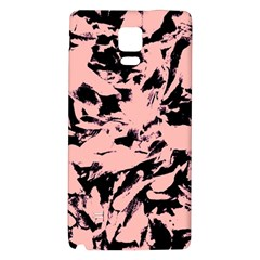 Old Rose Black Abstract Military Camouflage Galaxy Note 4 Back Case