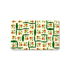 Plants And Flowers Magnet (name Card)