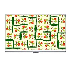 Plants And Flowers Business Card Holders
