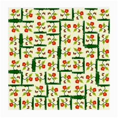 Plants And Flowers Medium Glasses Cloth