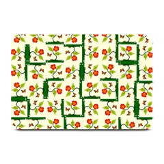 Plants And Flowers Plate Mats