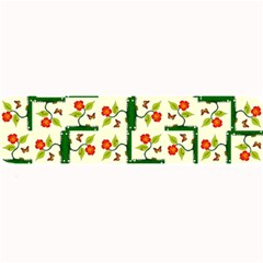 Plants And Flowers Large Bar Mats